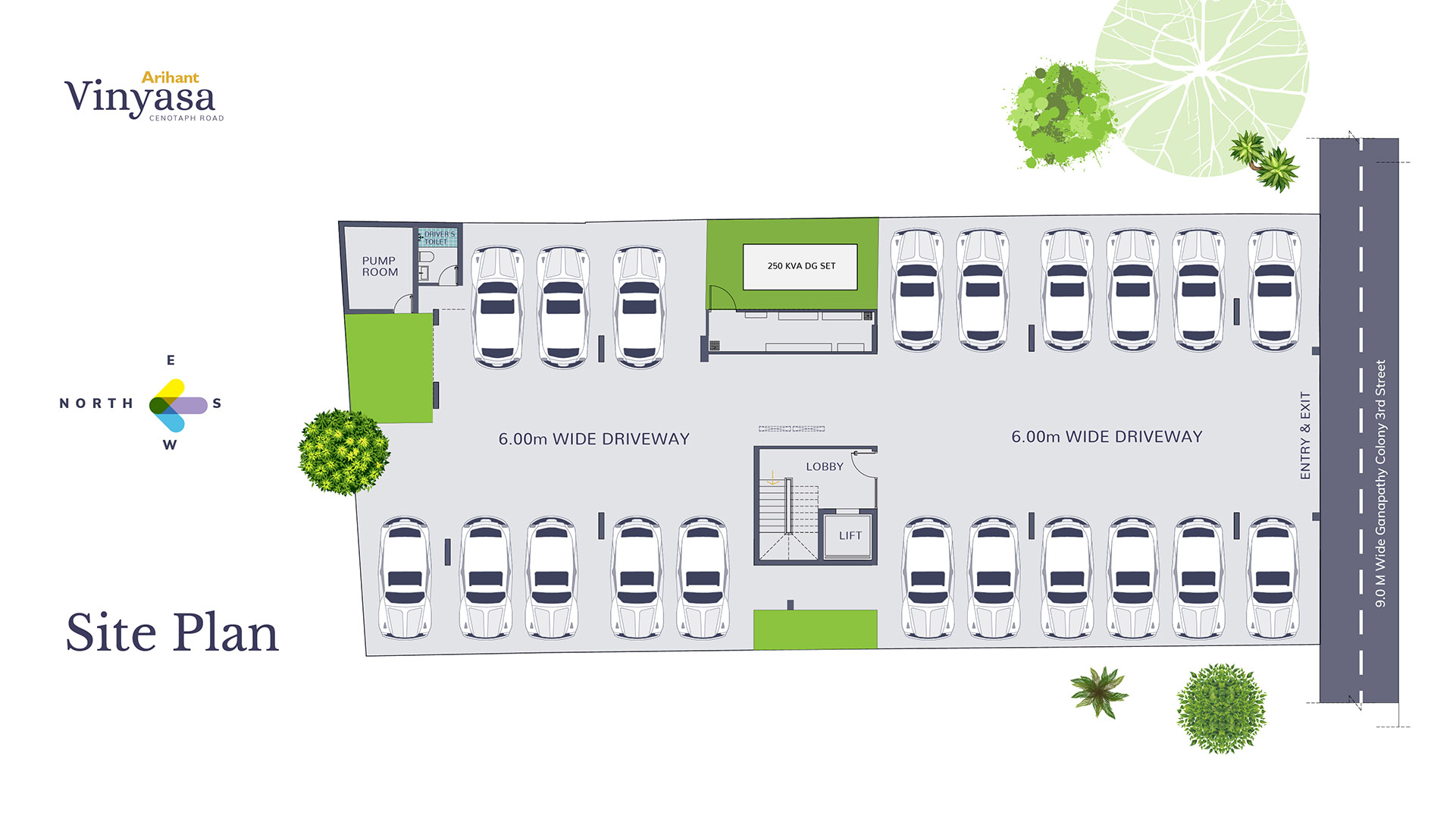Vinyasa Site Plan