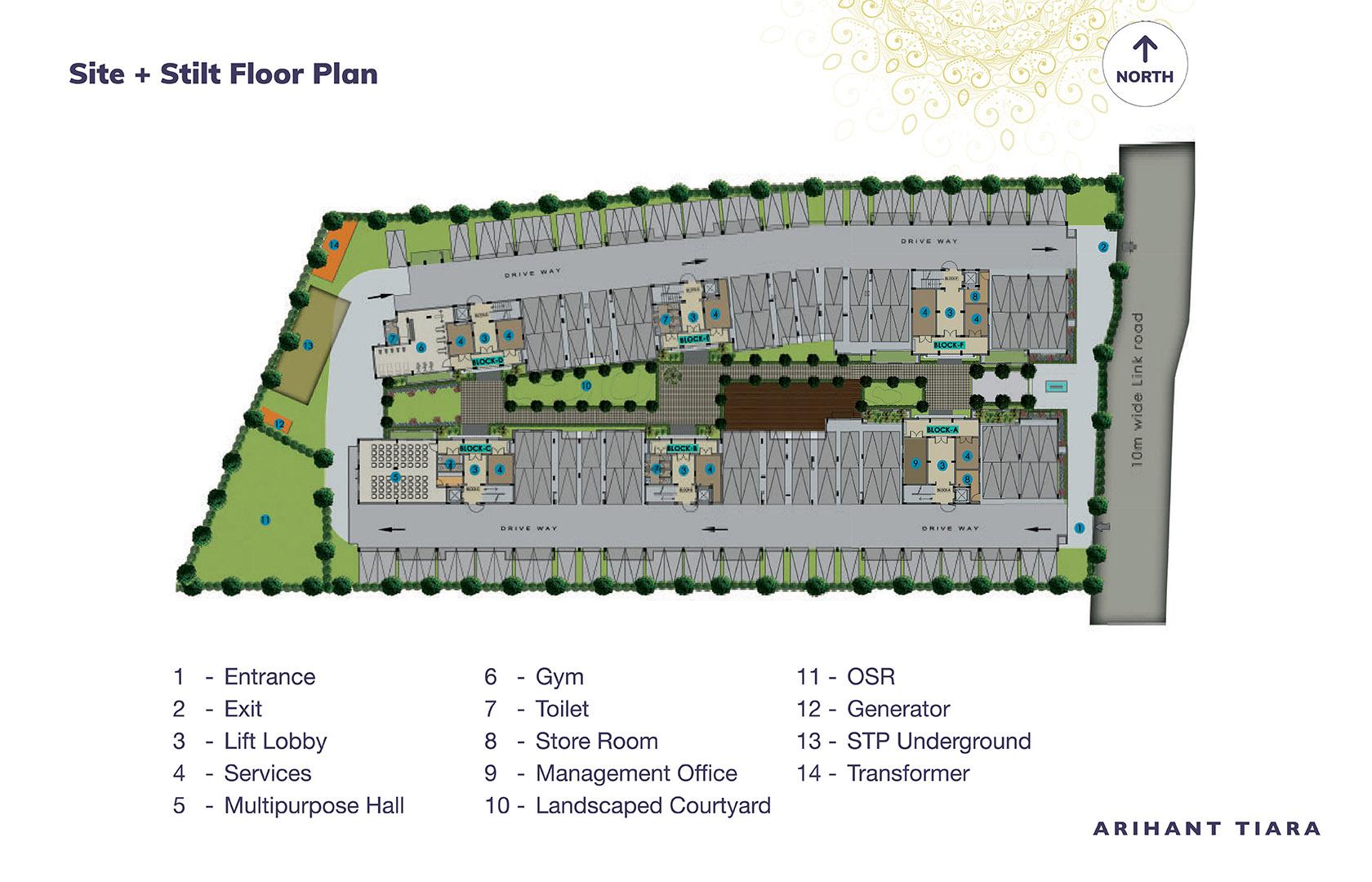Arihant-Tiara-Chennai-Site-Plan