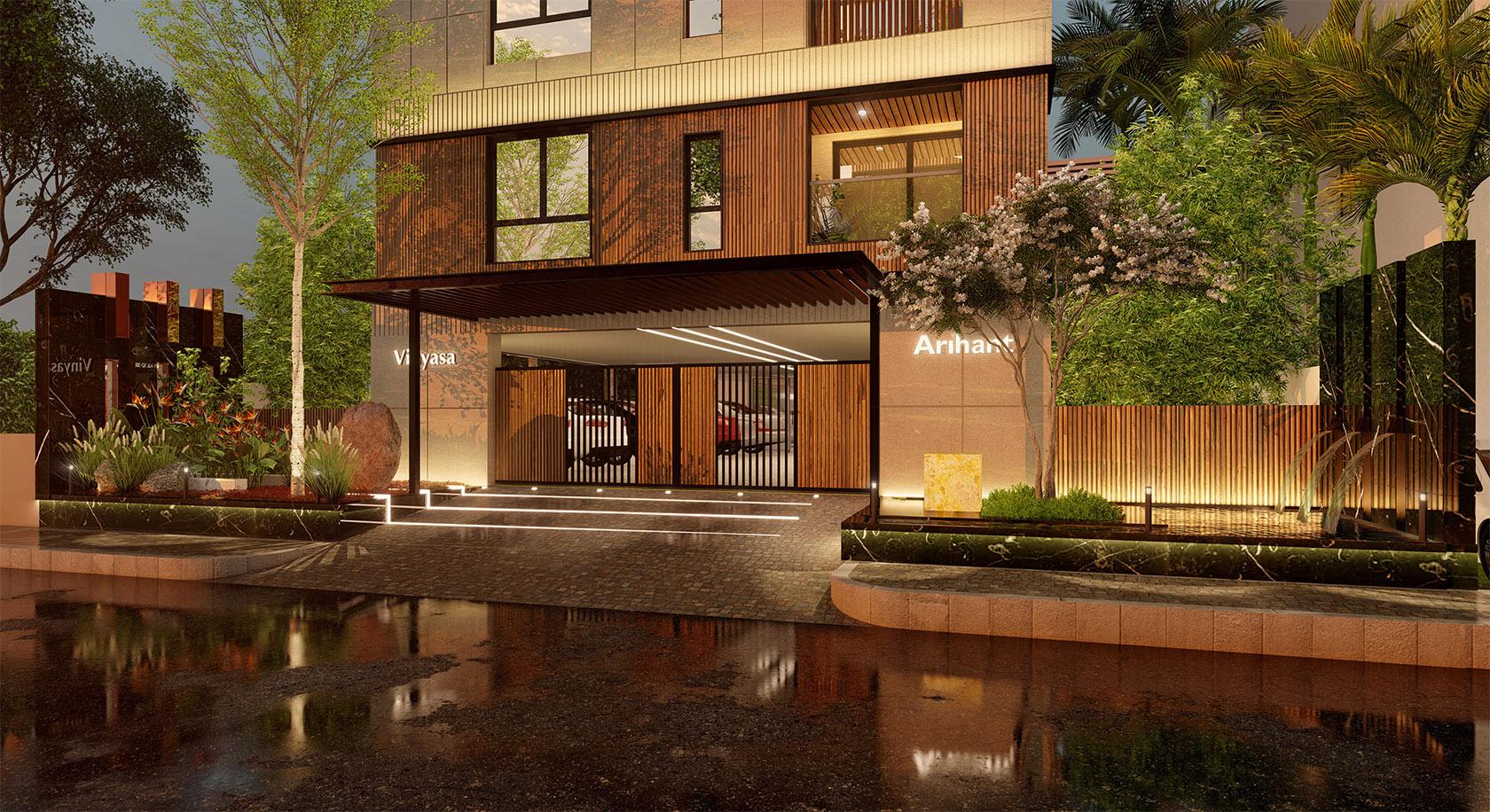 Arihant Vinyasa Entrance Design