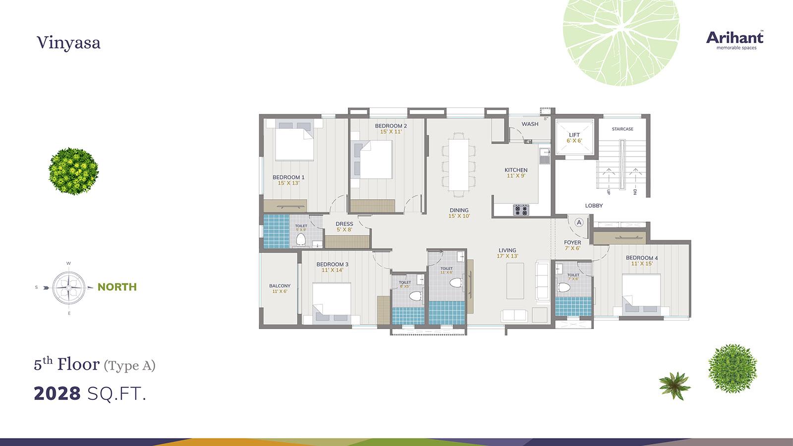 Arihant Vinyasa 5th Floor - Type A