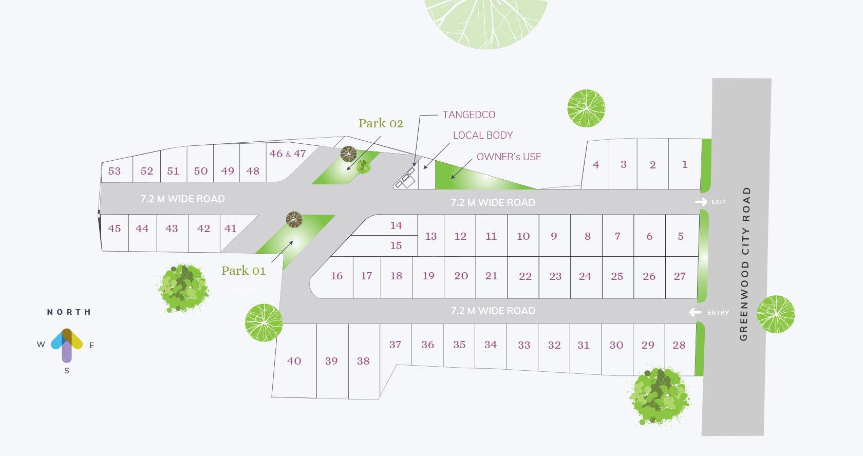 magnolia woods site plan