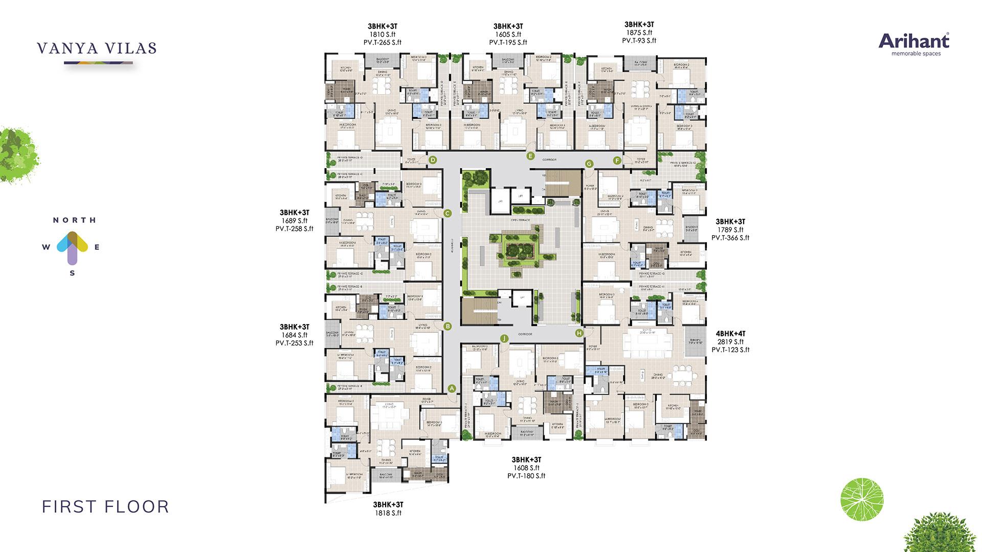 2 Arihant Vanya Vilas First Floor